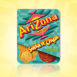 AriZona - Chipsy + Salsa - Snack box