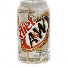 A&W Cream Soda DIET