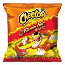 Cheetos - Crunchy Flaming Hot Cheese Snacks 1,25oz