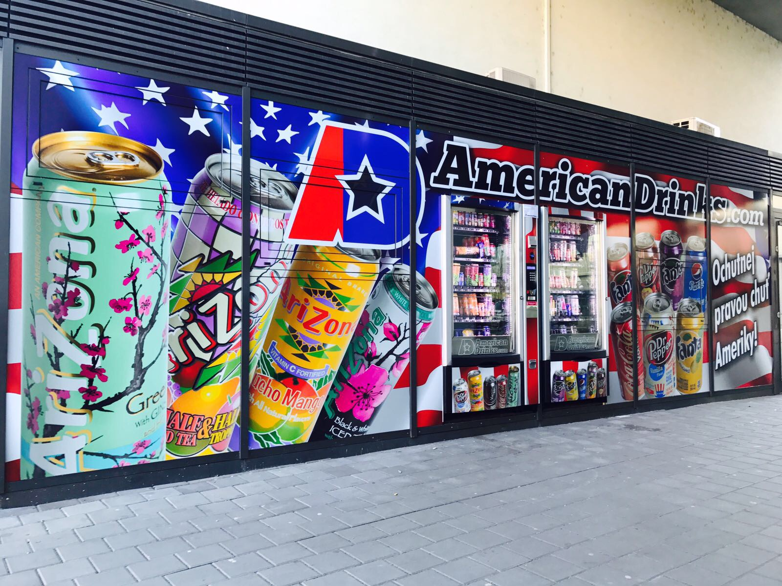 Vending machines AmericanDrinks